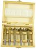 Sada sukovníků - čelní frézy do dřeva s povrchovou úpravou TiN 5 ks