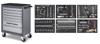 Dílenský vozík B107 7 zásuvek + sestava nářadí 6 modulů 304ks Basic-Line